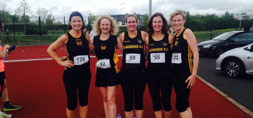 Novice RR May 2014 Ladies Team (1)