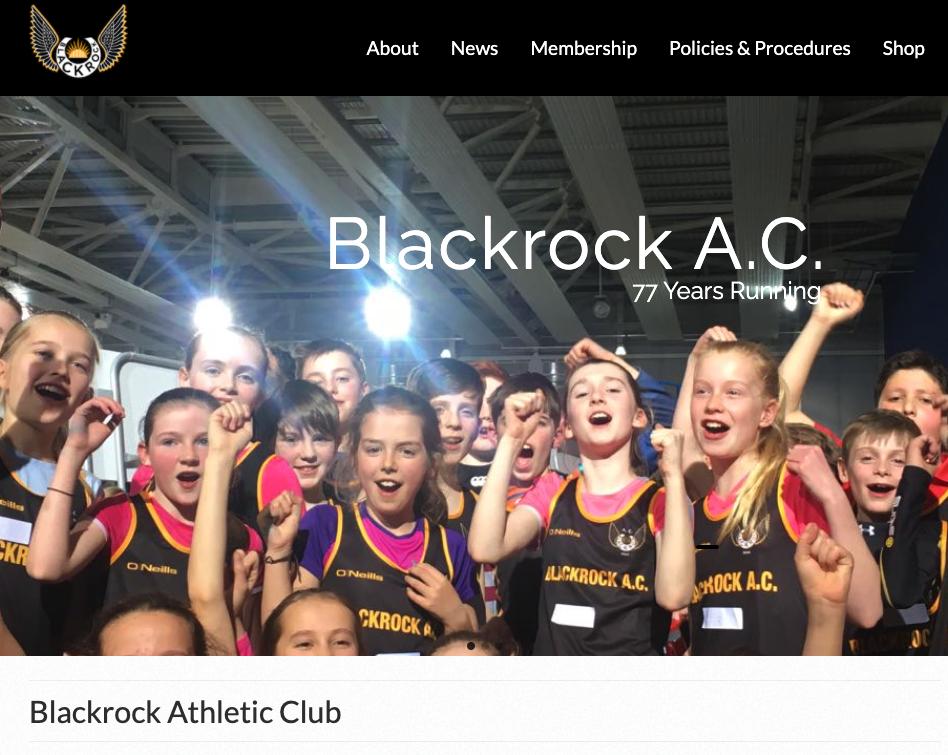Blackrock A.C. website