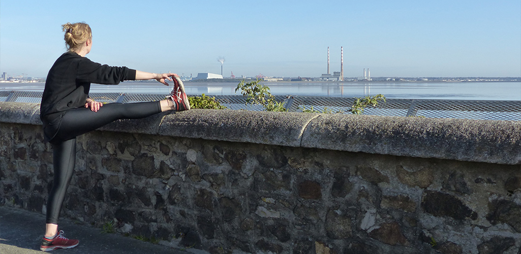 Stretching for runners Blackrock A.C. Dublin