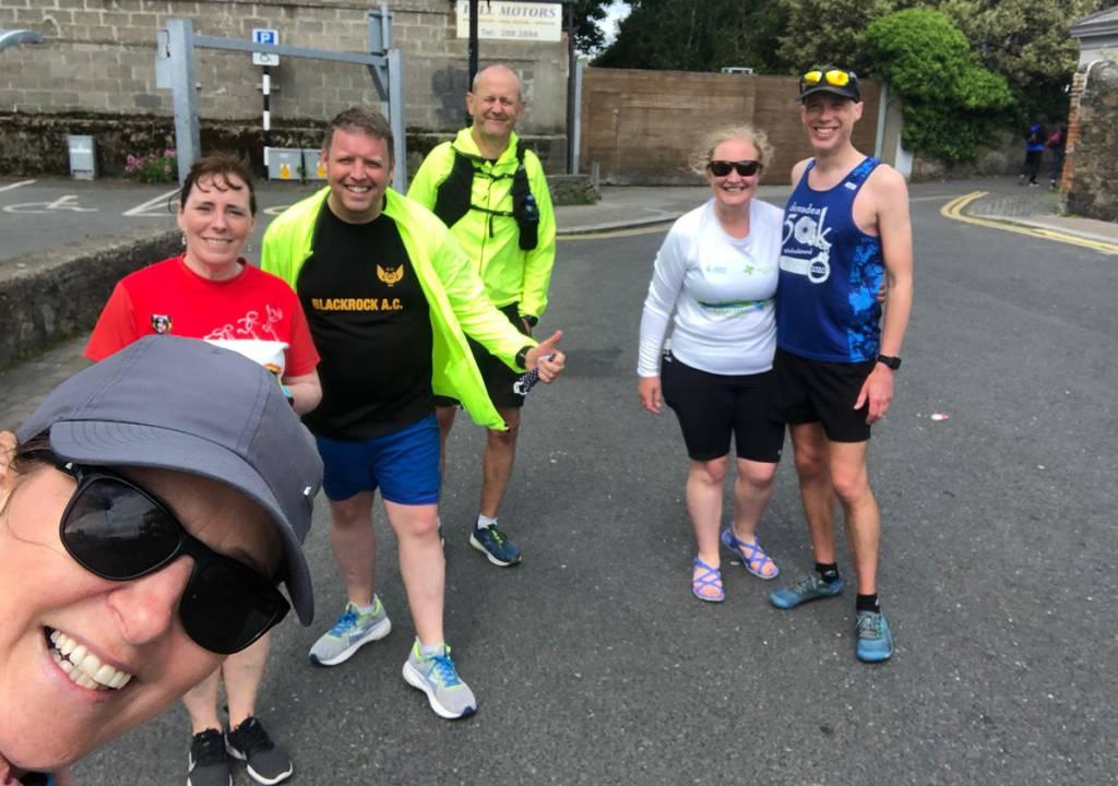 Blackrock A.C. Dublin Cork marathon